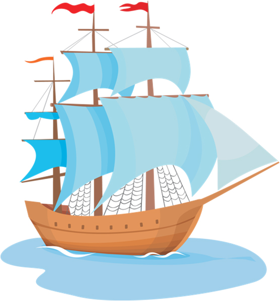 Sail ship clipart - Clipground