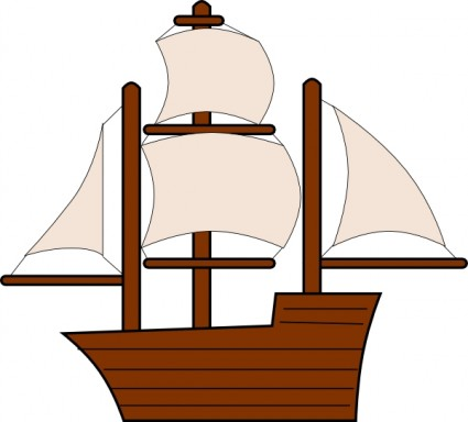 Clipart sailing ships.