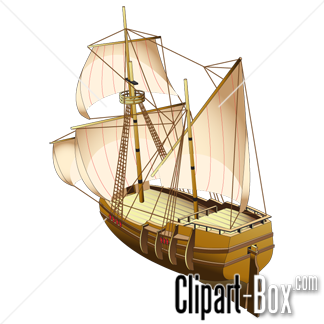 CLIPART OLD SHIP.
