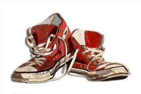 Clipart Dirty Shoes.