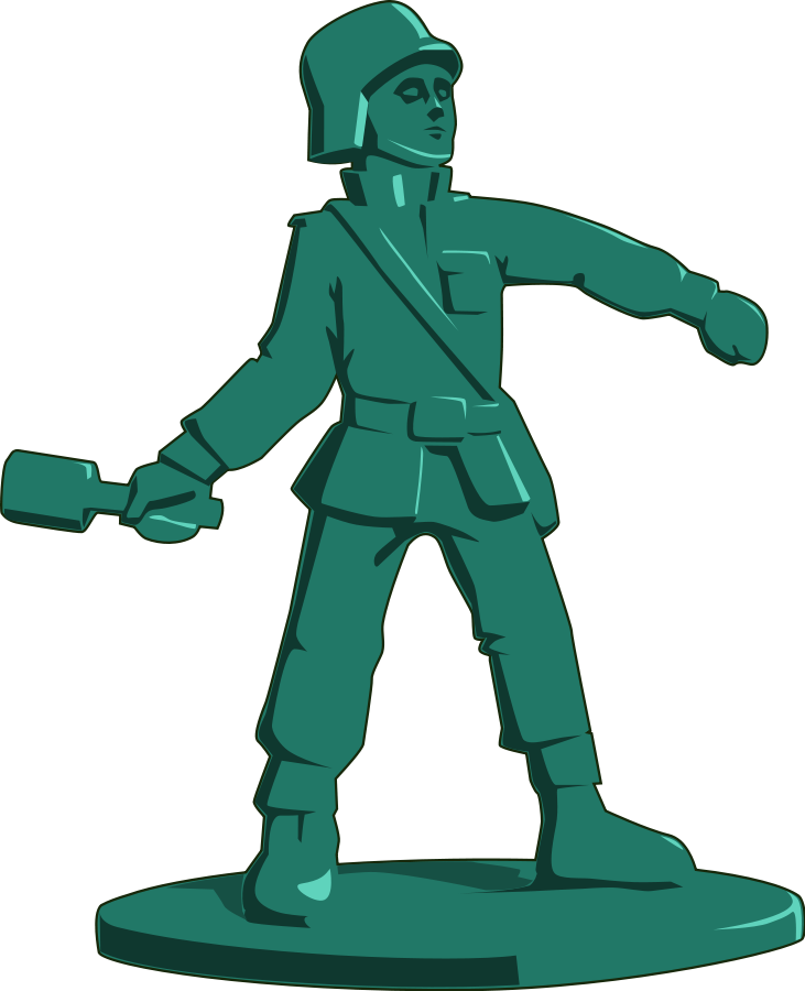 Old German Soldier Clipart, Vector Clip Art Online, Royalty.