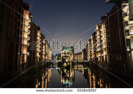 Speicherstadt Stock Photos, Royalty.