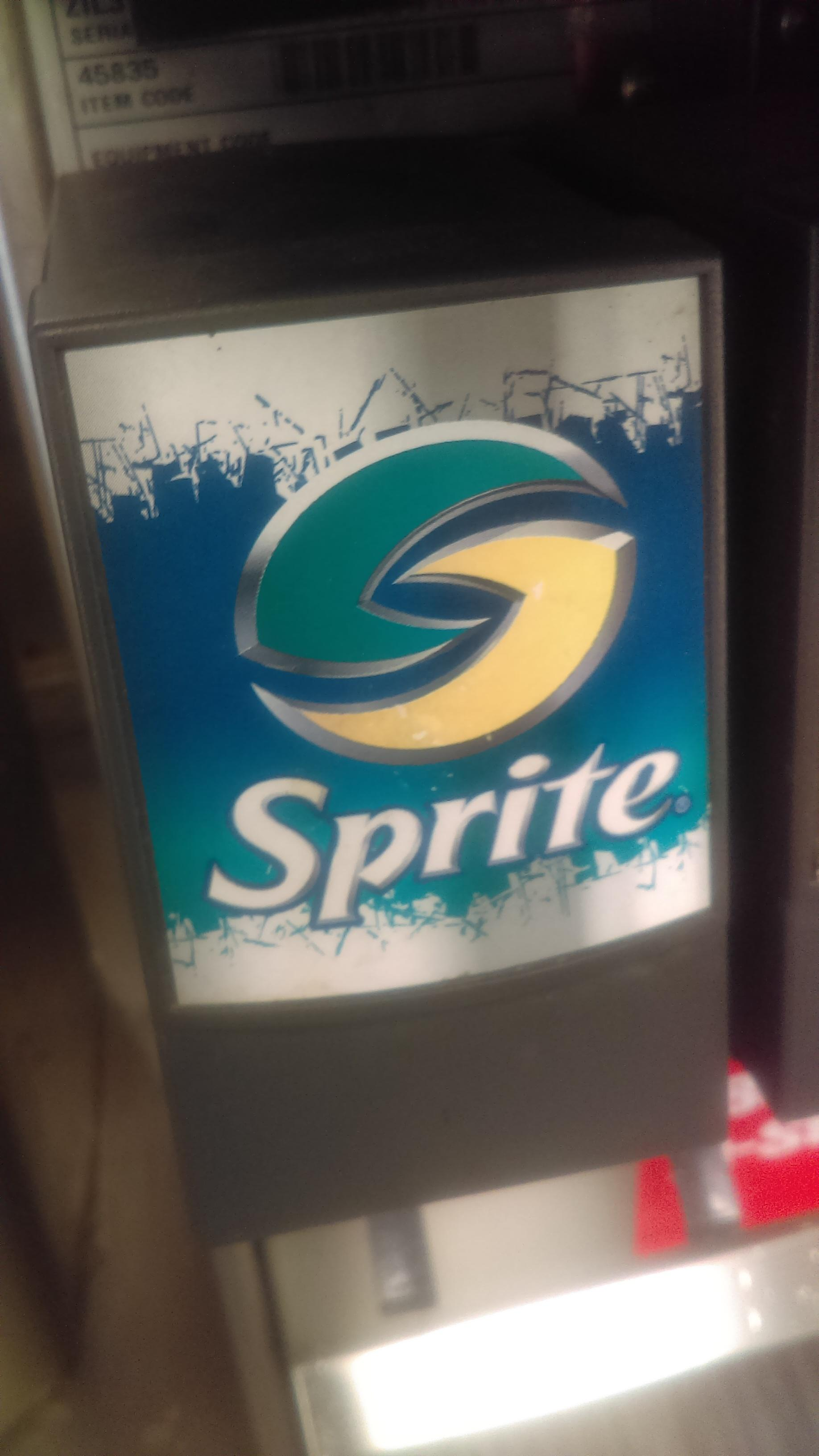 A Hardee\'s I went to still has the old Sprite logo.
