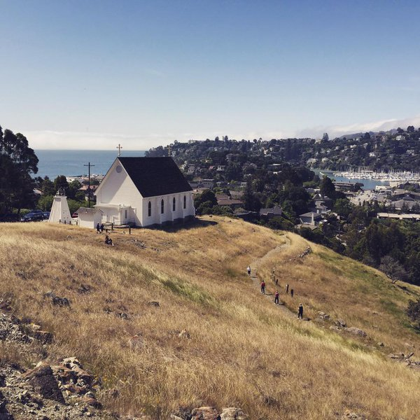 "Marin County Parks on Twitter: ""The #view at Old St Hilary's."