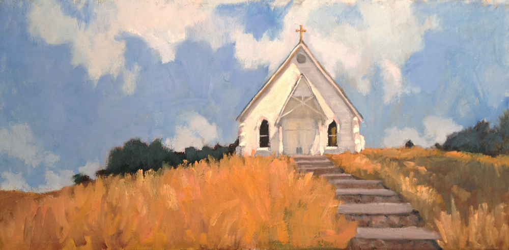 Lovely painting! dnewmanpaintings: Old St. Hilary Church in.