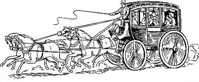 Free Stagecoach Clipart.