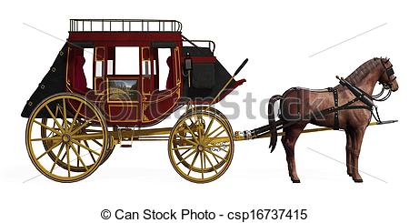 Stagecoach Illustrations and Clipart. 82 Stagecoach royalty free.