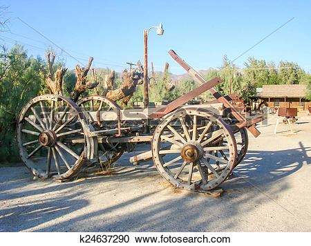Stock Photography of old stagecoach k24637290.