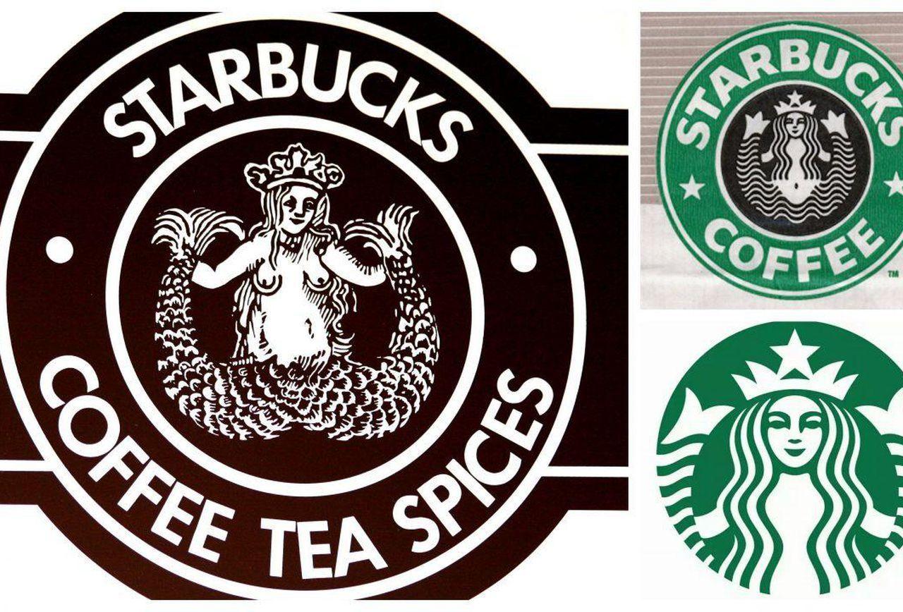 Old Starbucks Logo.