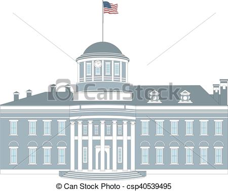 EPS Vectors of Old Pennsylvania State Capitol (The Hills Capitol.