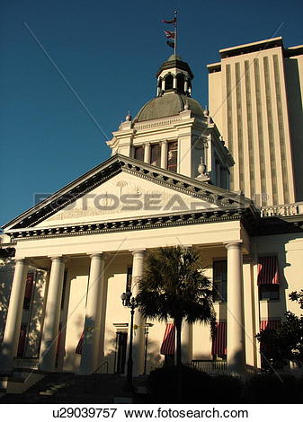 Picture of Tallahassee, FL, Florida, The Old State Capitol ca.1902.