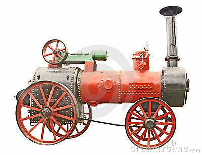 Antique Steam Tractor Stock Photos, Images, & Pictures.