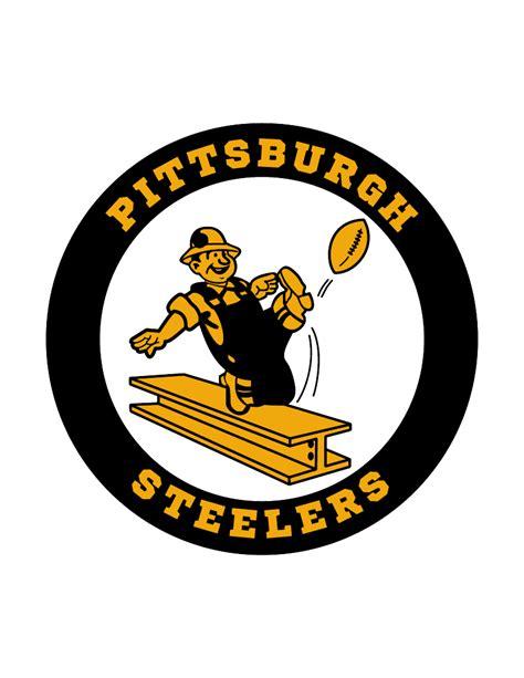 Pittsburgh steelers old Logos.