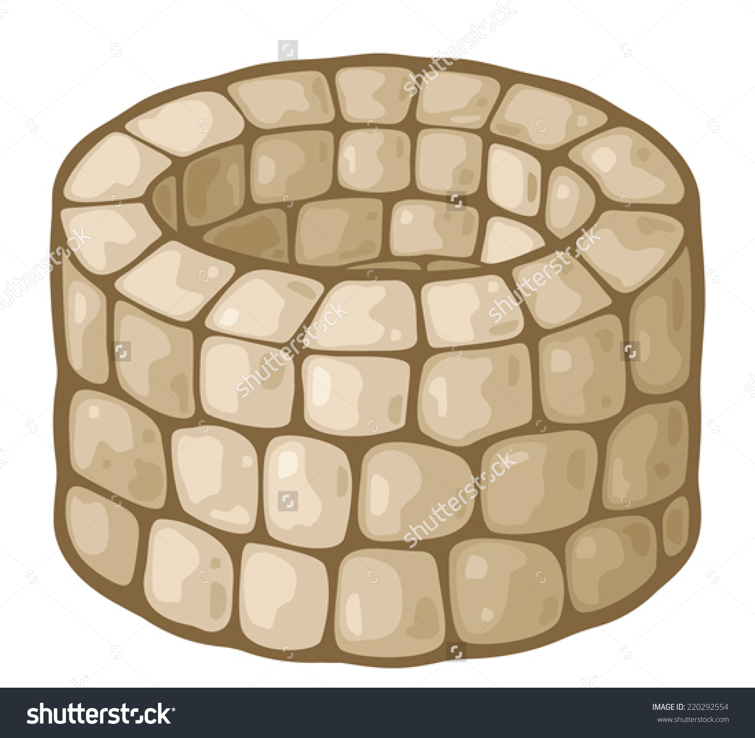 Stone Well Clipart.