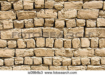 Stock Photo of Old stone wall is098r8s3.