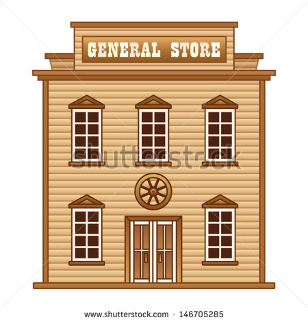 General Store Stock Images, Royalty.