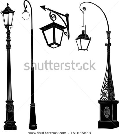Street lamp free vector download (1,458 Free vector) for.
