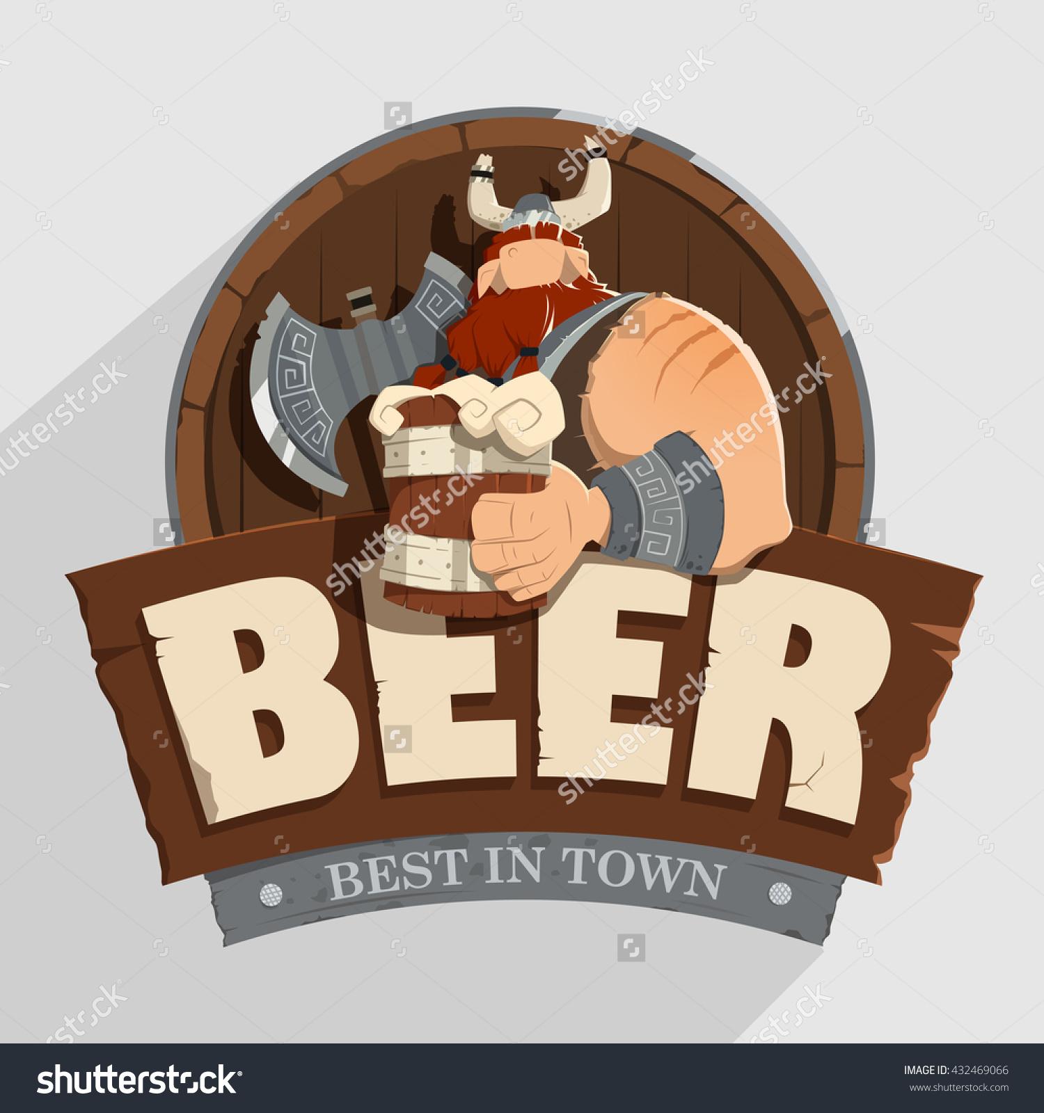 Creative Wall Street Pub Bar Beer Stock Vector 432469066.