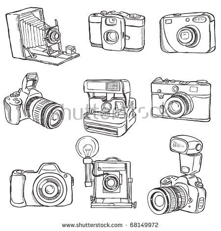 Vector old style camera Free vector for free download about (2.