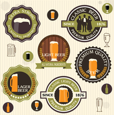 Old style beer banner free vector free vector download (20,275.