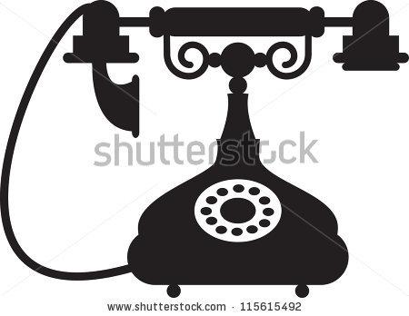 Antique Telephone Stock Photos, Royalty.