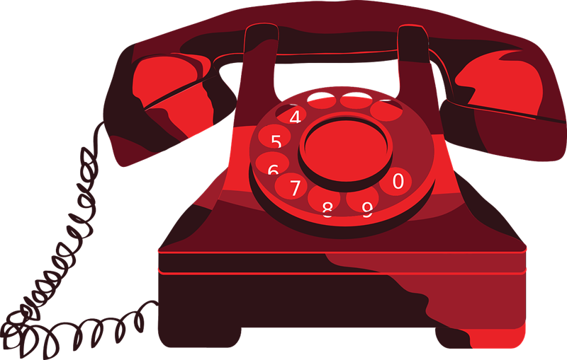 Old Telephone Clipart.