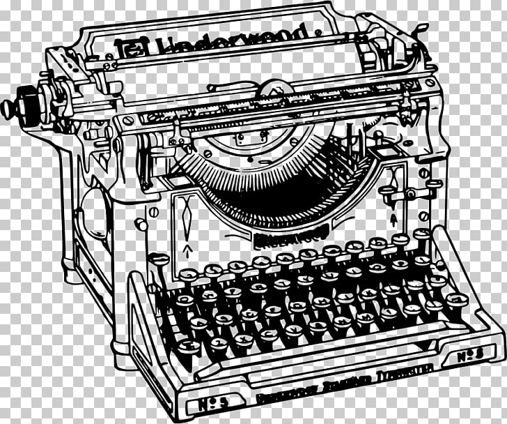 Typewriter , old things PNG clipart.