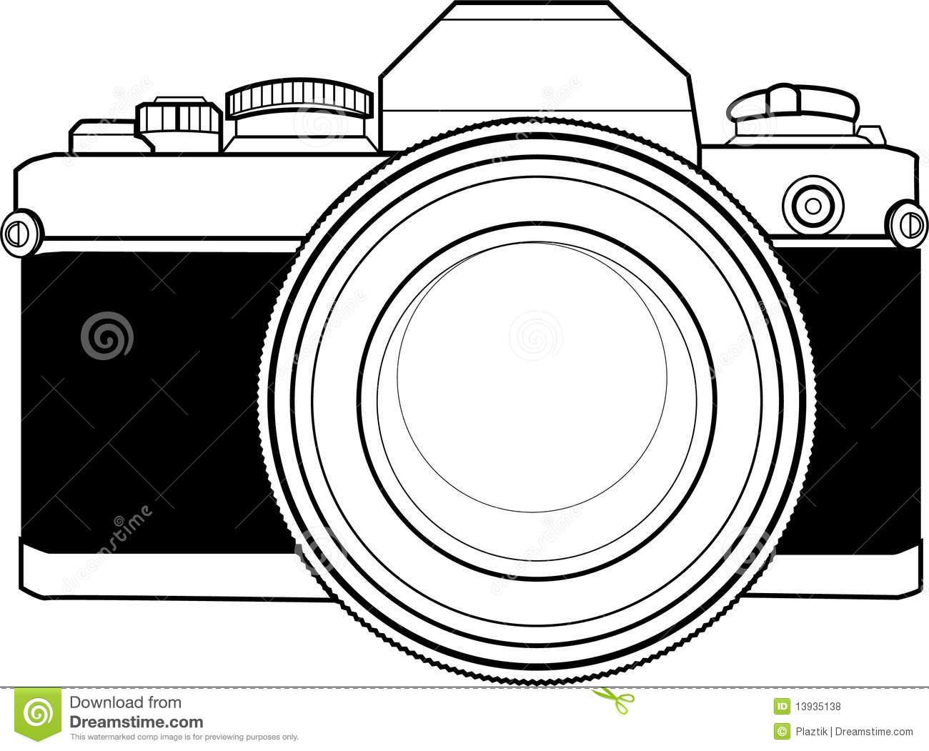 8413 Camera free clipart.