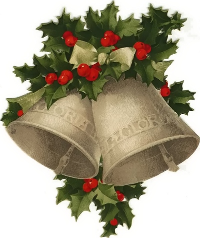 Old fashioned christmas clipart.