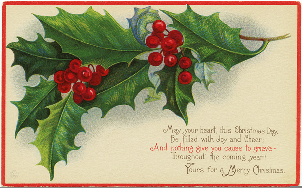 Free Old Fashioned Christmas Clipart.