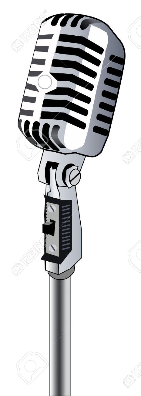 Microphone Clipart Free.