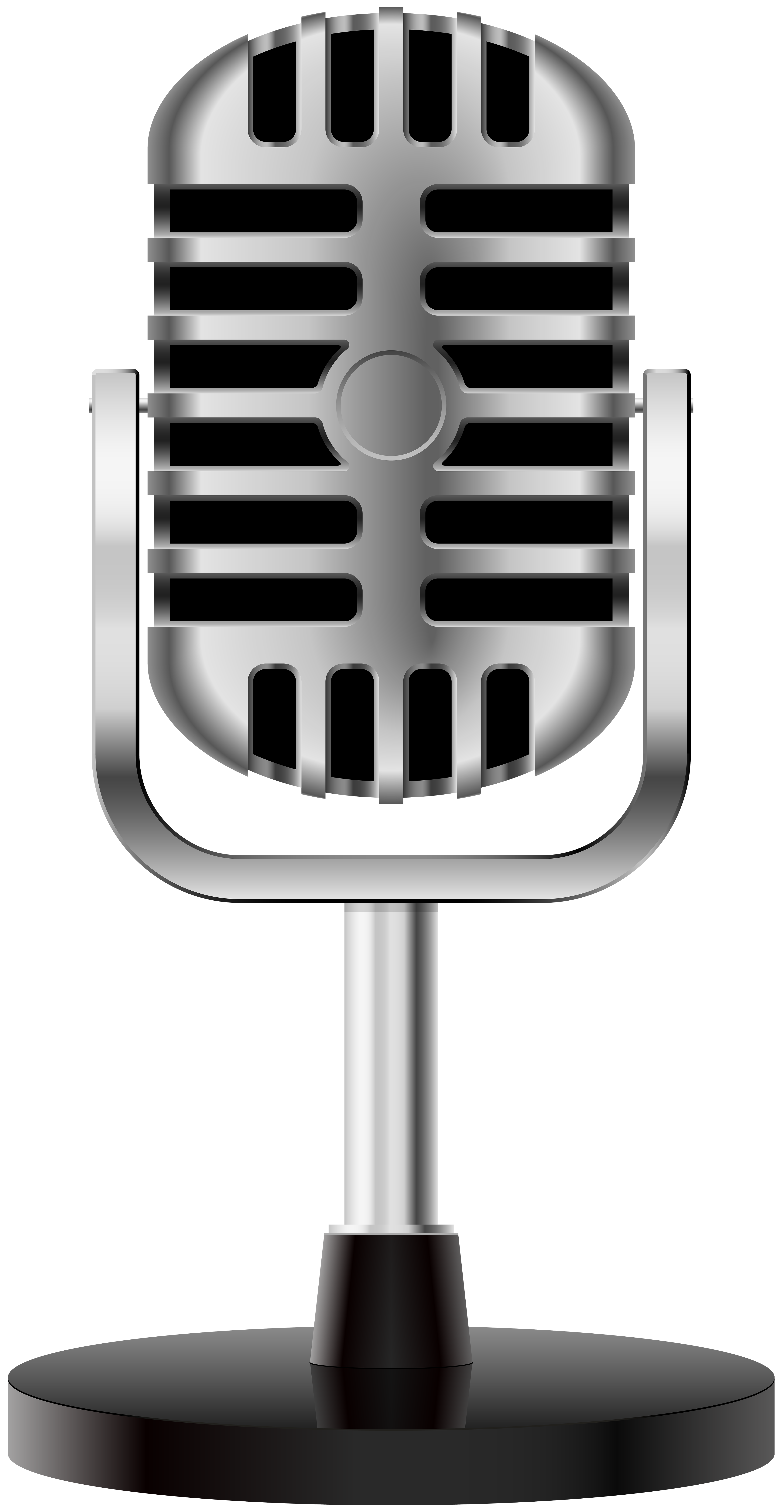 Old fashioned microphone clip art clipart images gallery for.