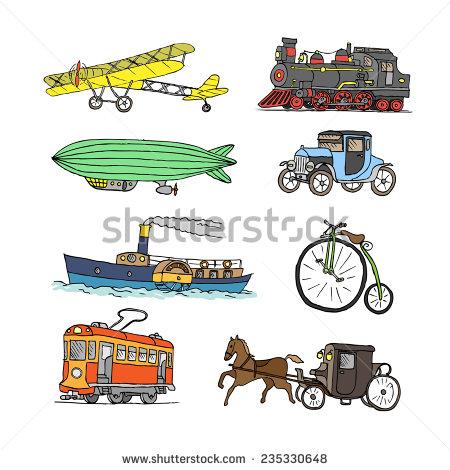 Old Time Bike Stock Vectors, Images & Vector Art.