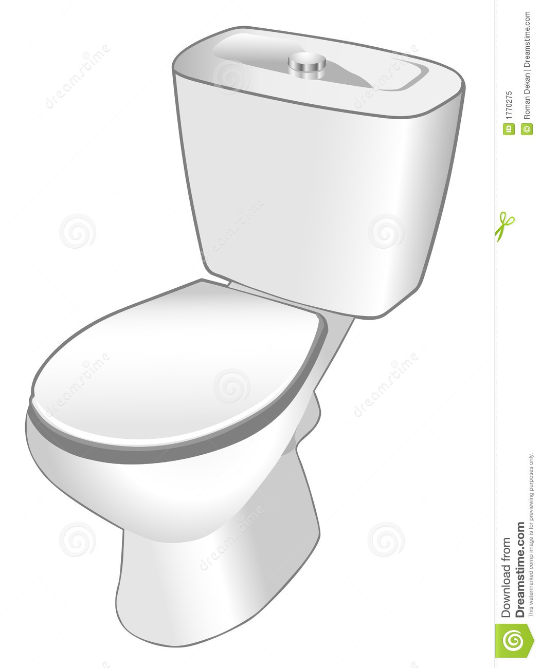 Dirty Toilet Clipart.
