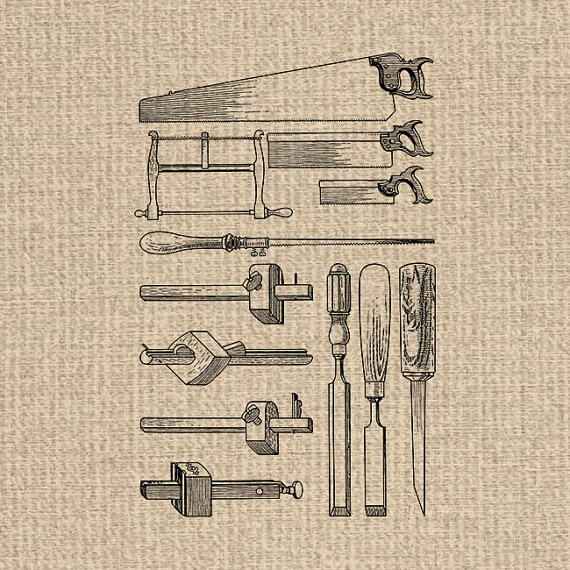 Printable Antique Tools Image Woodworking Clipart Tools Images.