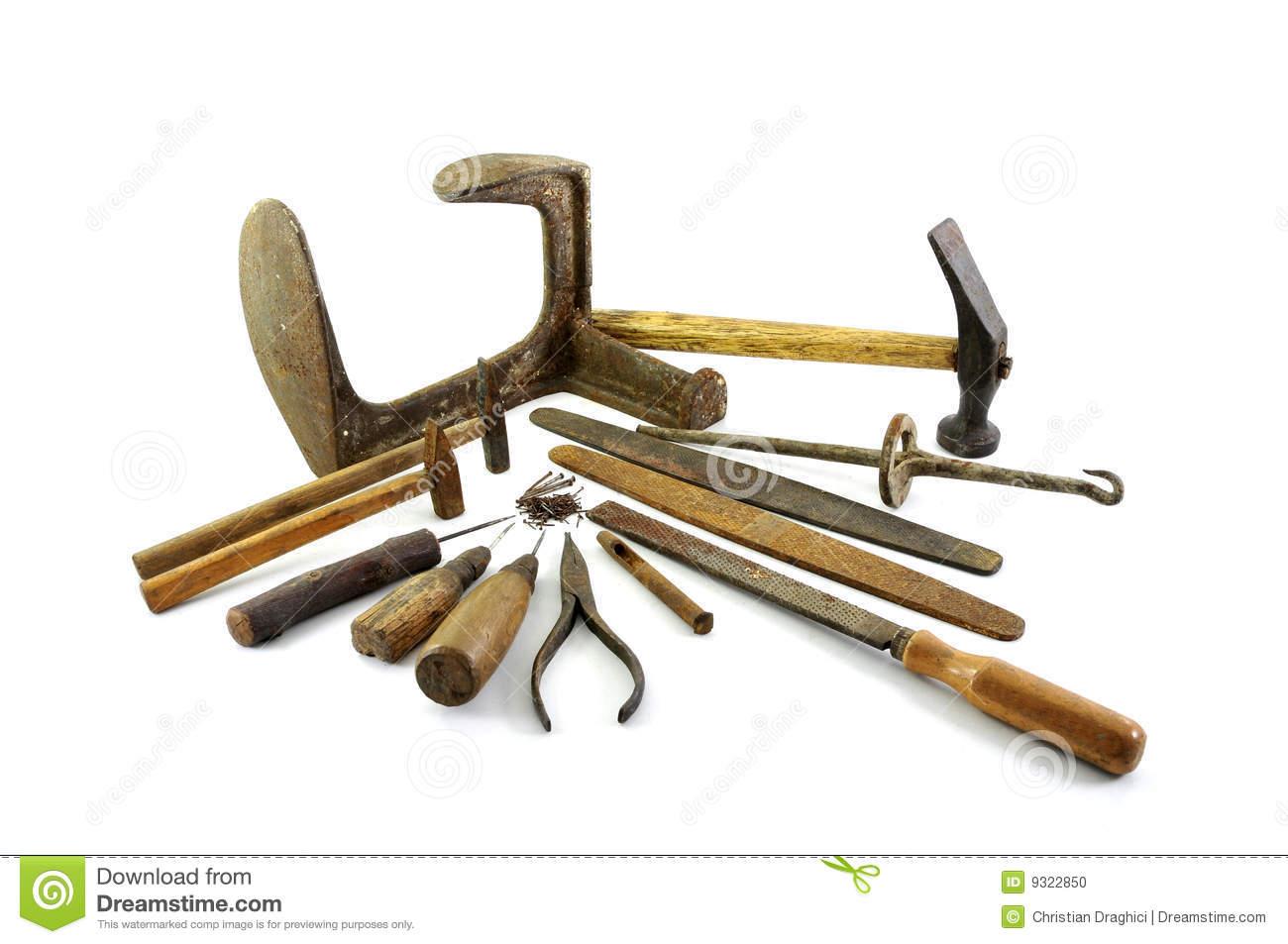 Cobbler tools clipart.