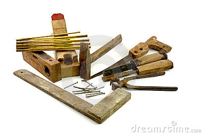 Old Carpenter Stock Images.