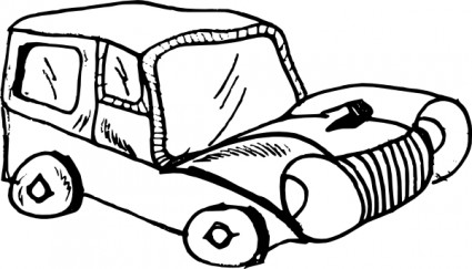Cartoon Car clip art.