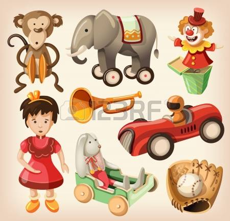 10,837 Old Toy Stock Vector Illustration And Royalty Free Old Toy.