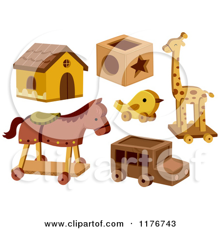 Wood Carver Toy Game Clipart.