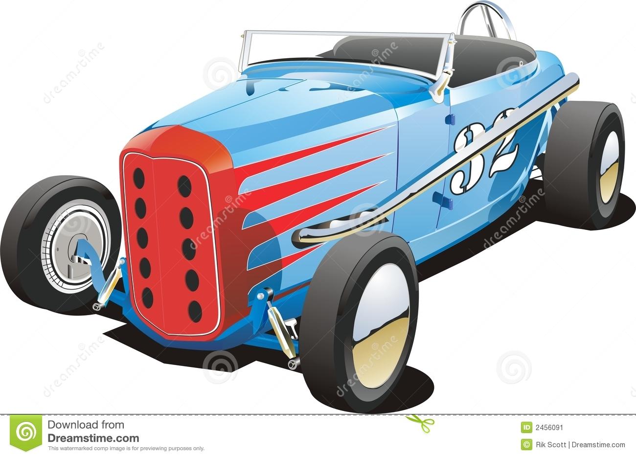 Dirt track car clipart.