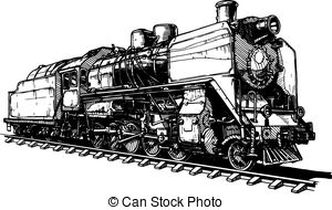 Railway tracks Clip Art Vector and Illustration. 3,564 Railway.