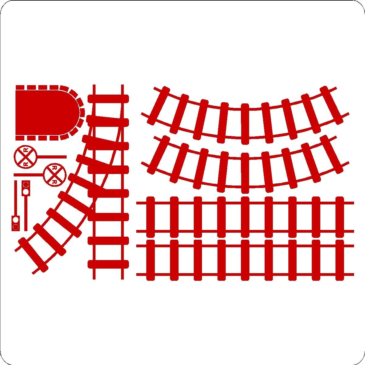 Clip Art Train Track.
