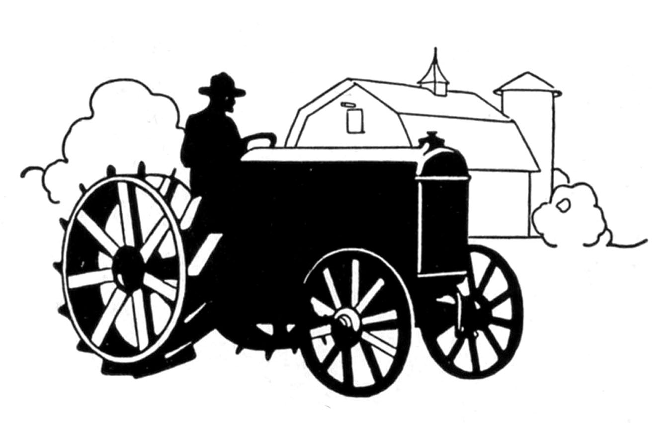 Old Tractor Clipart.