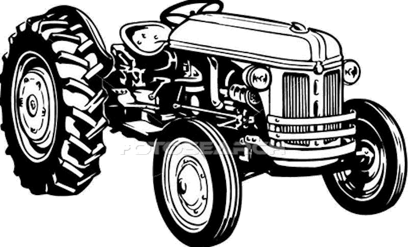 Tractor Clip Art Transparent : Old tractor clipart clipground