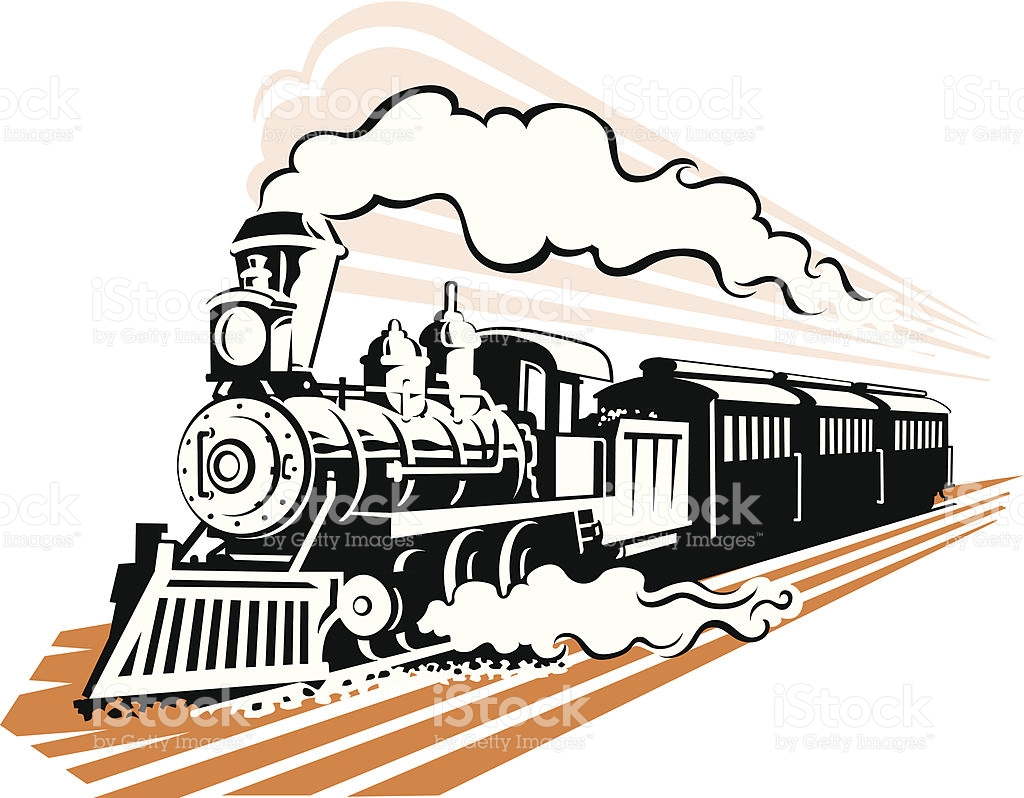 Old train clipart - Clipground