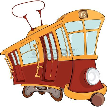 568 Old Trams Stock Vector Illustration And Royalty Free Old Trams.