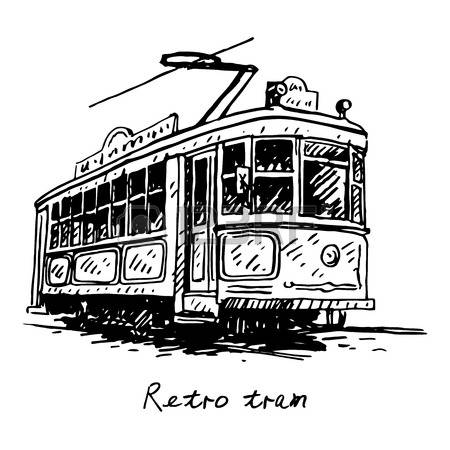 627 Old Trams Stock Vector Illustration And Royalty Free Old Trams.