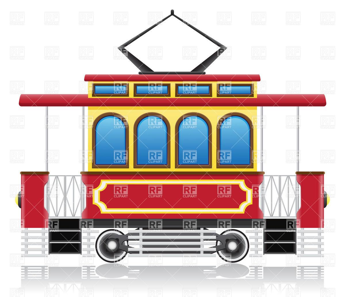 Old tram.