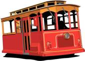 Trolley car clipart - Clipground